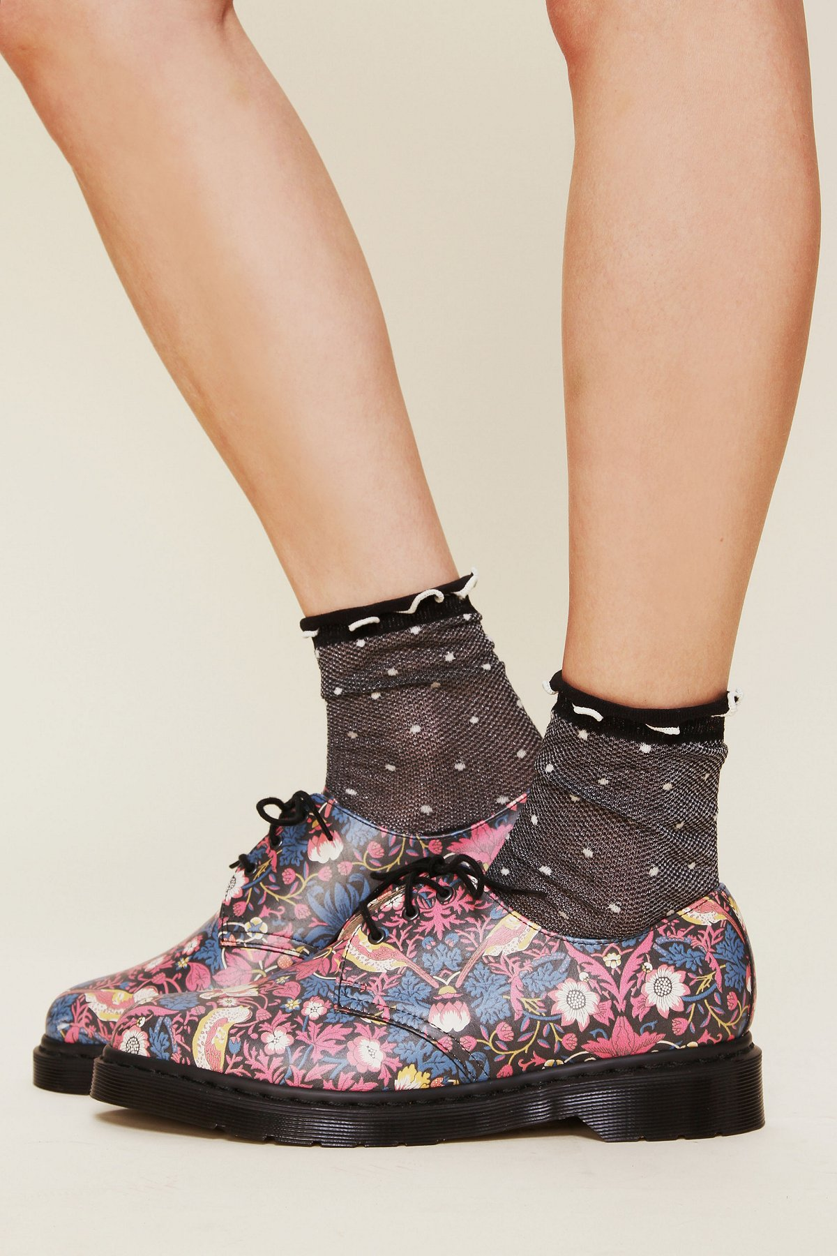 Liberty London for Doc Martens Floral Printed Gibson Oxford