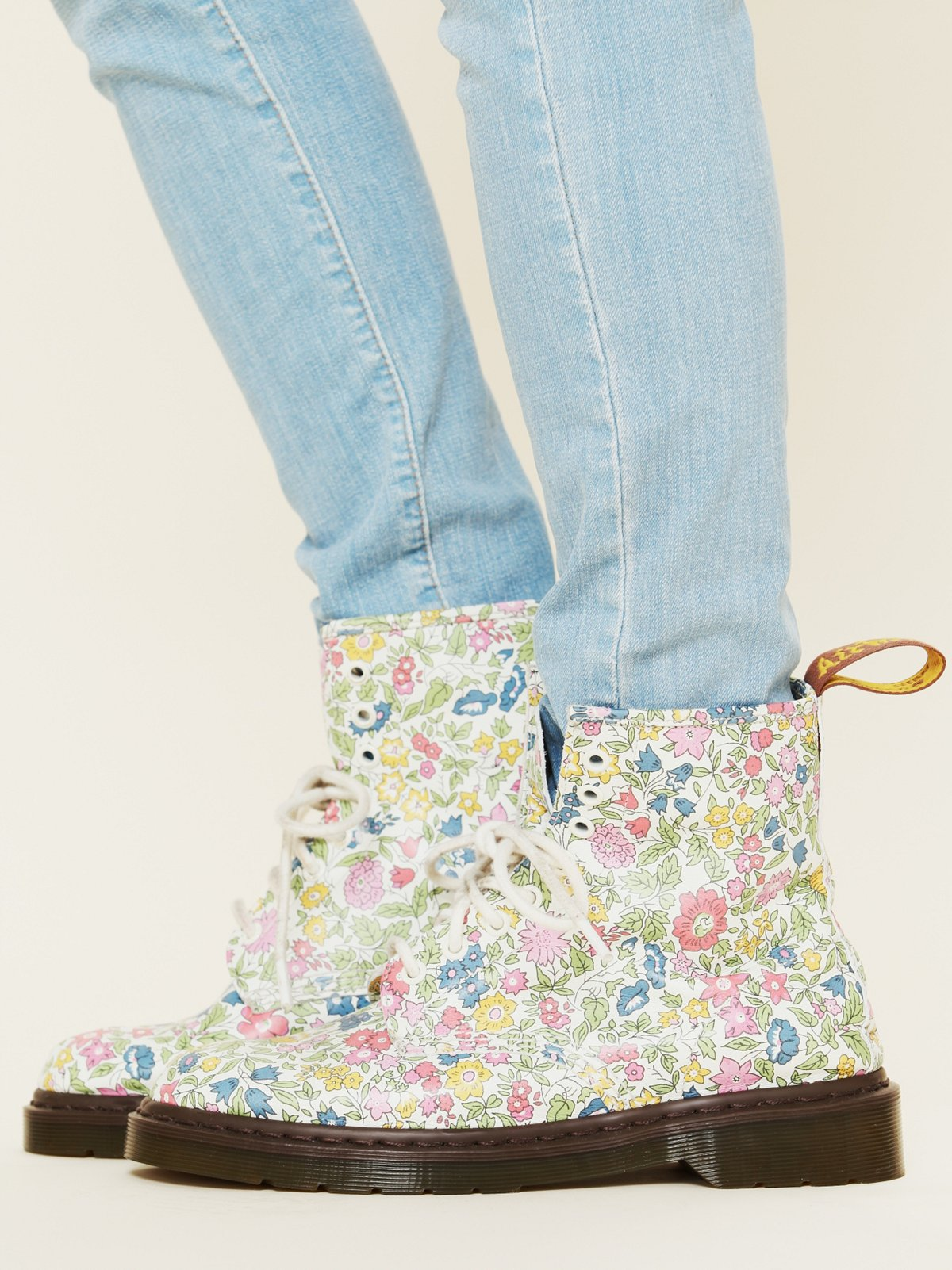 Liberty London and Dr. Martens 1460 Boots