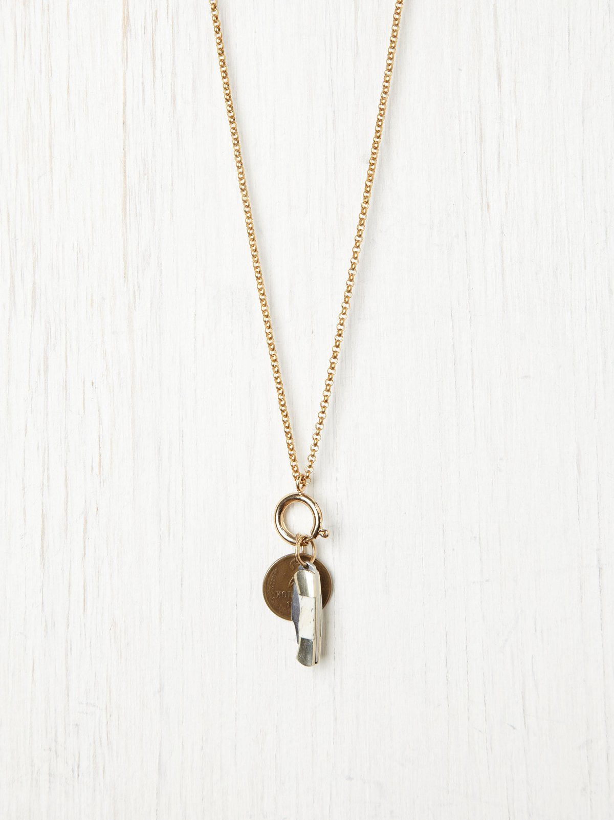 Coin & Pocket Knife Pendant