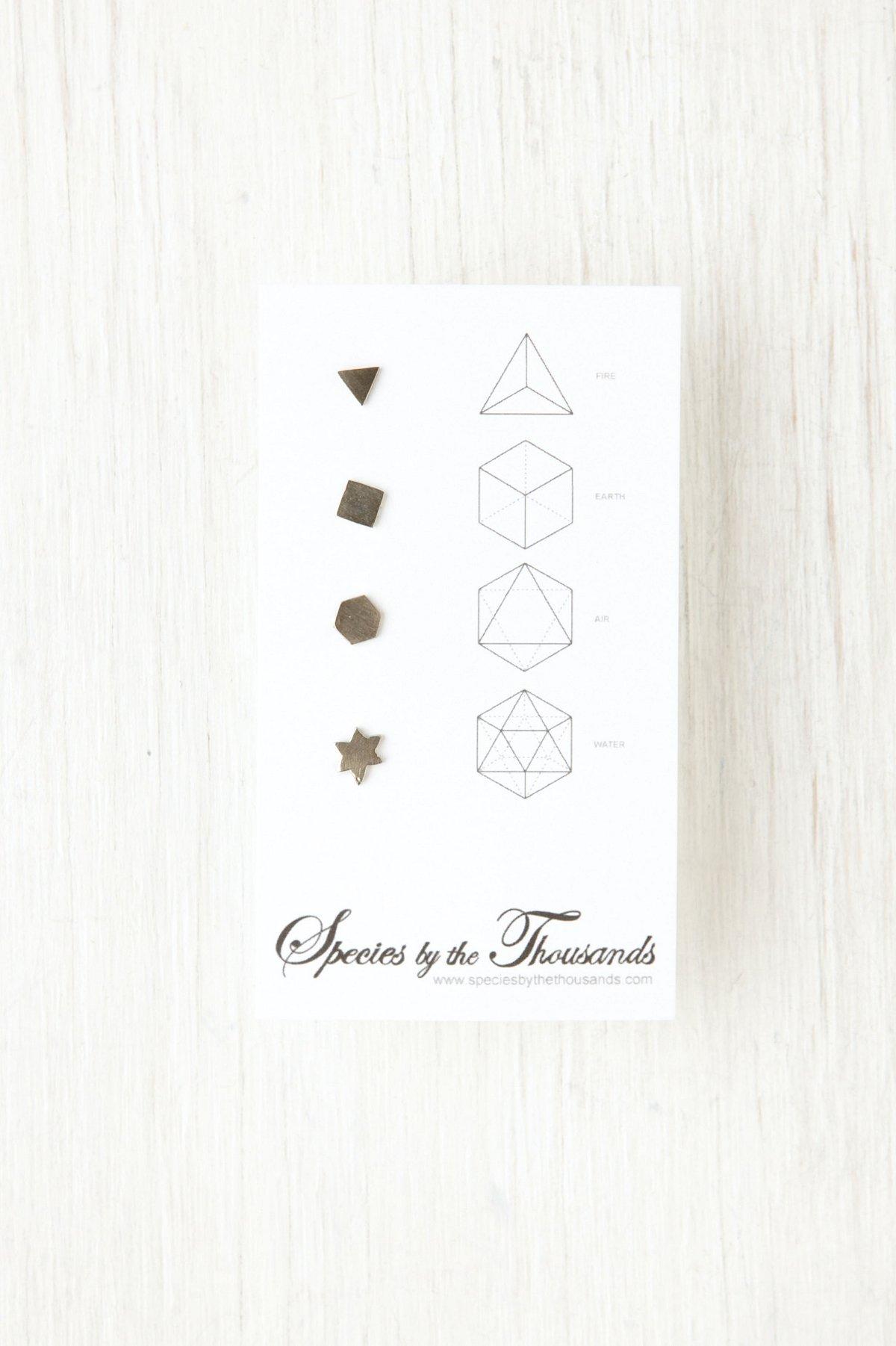 Earth Symbol Earrings