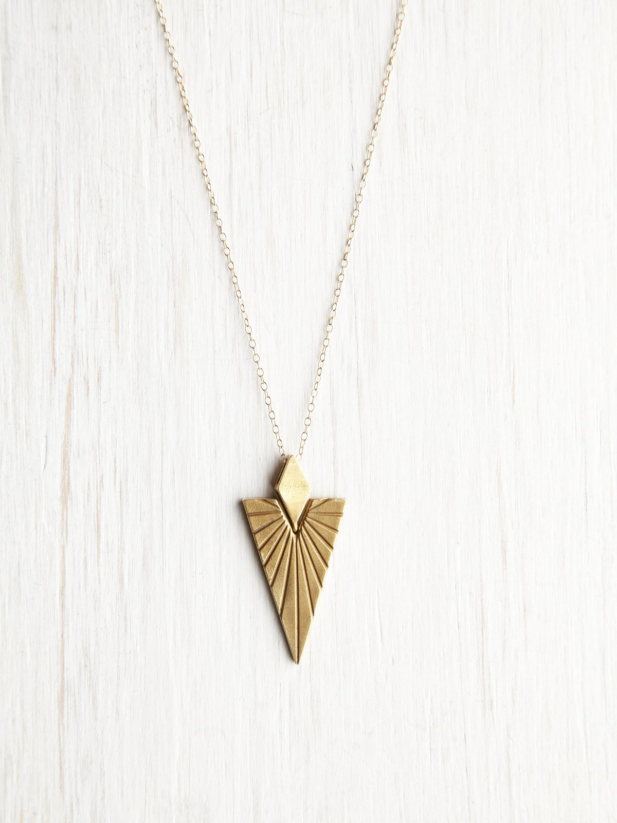 Druid Triangle Necklace