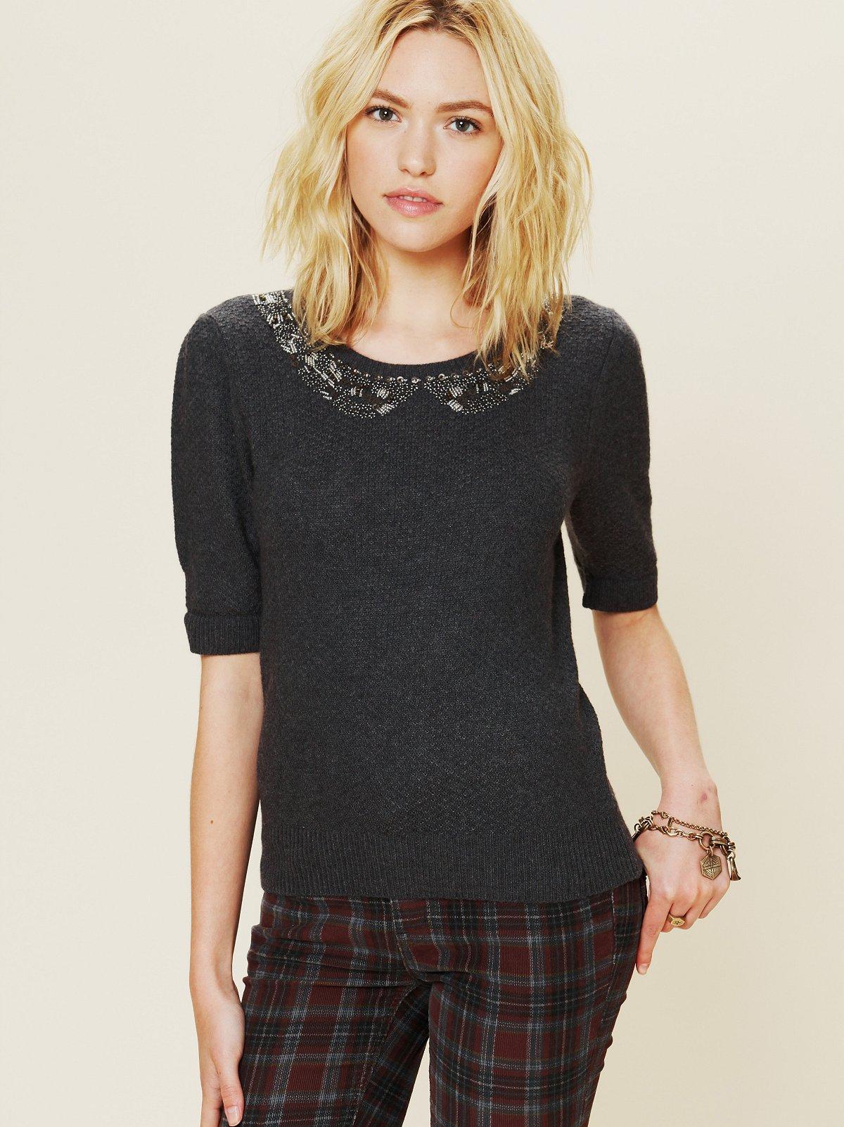 Pixie's Collar Sweater