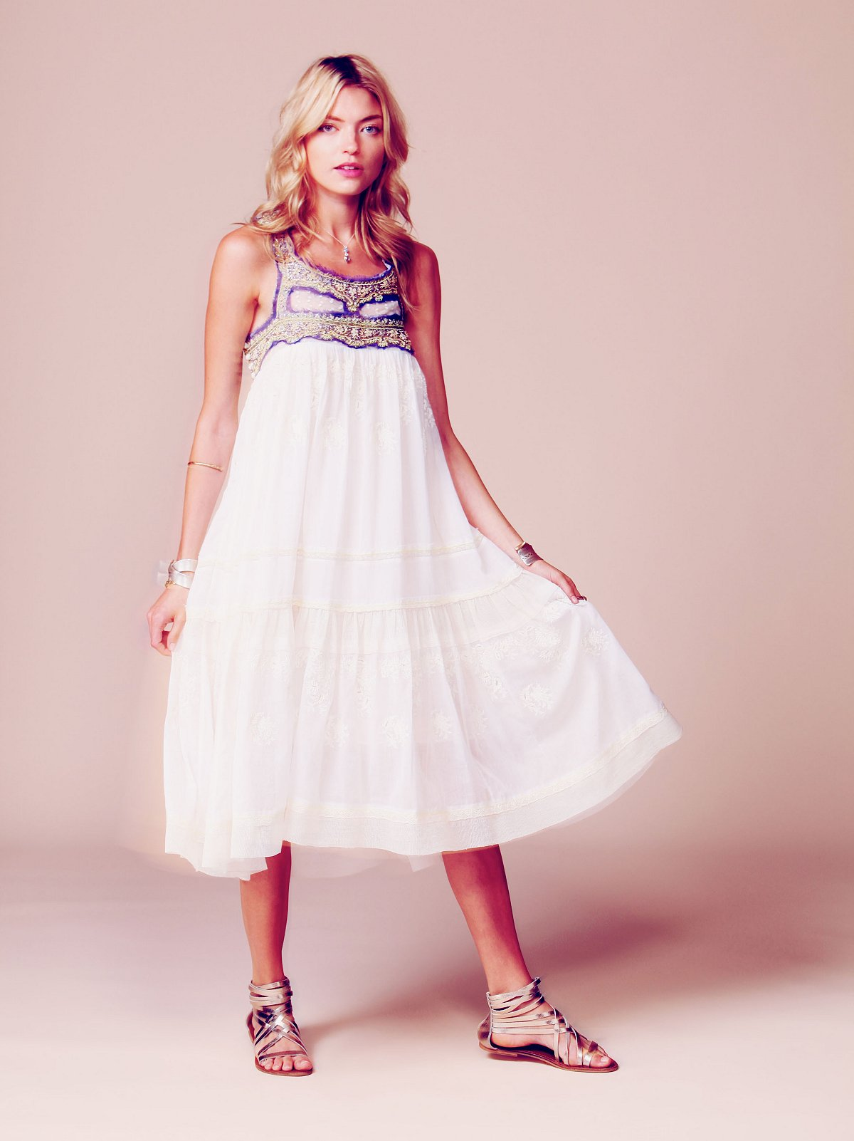 Kristal's Limited Edition White Summer Dress