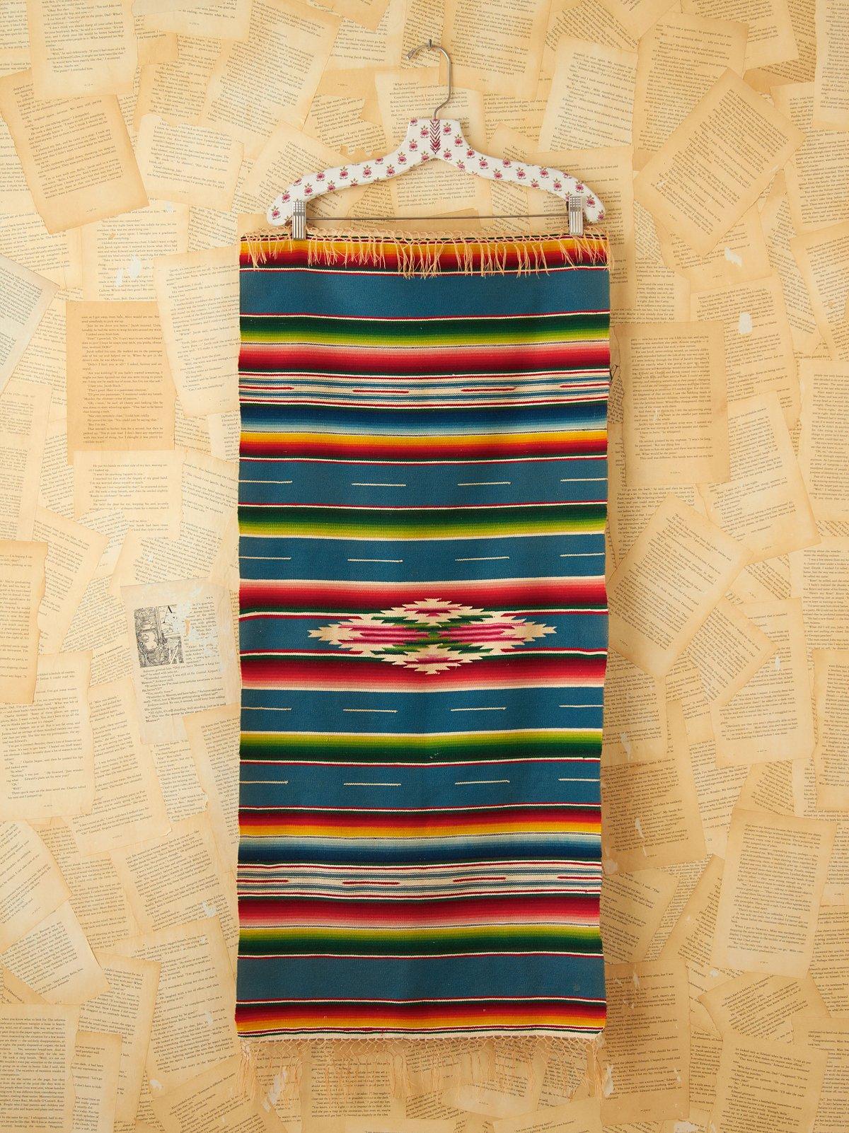 Vintage Southwestern Patterned Rug