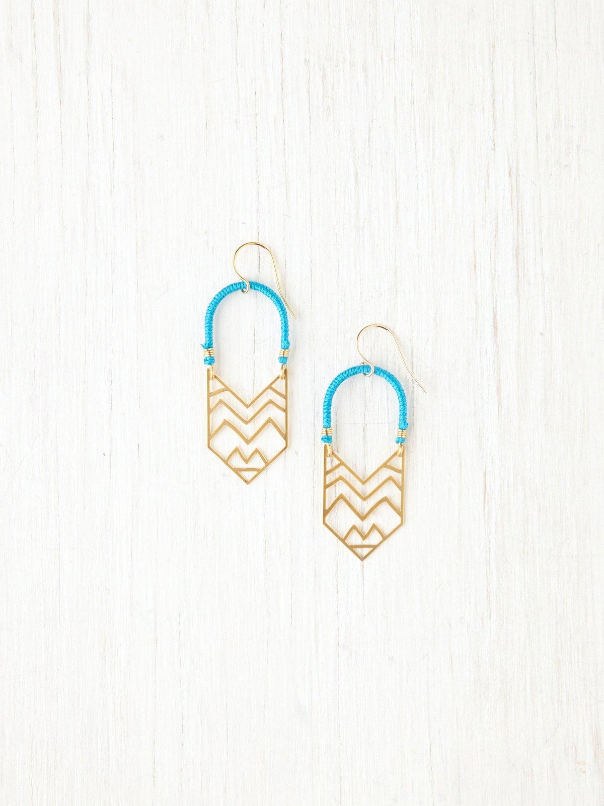 Montana Arc Earrings