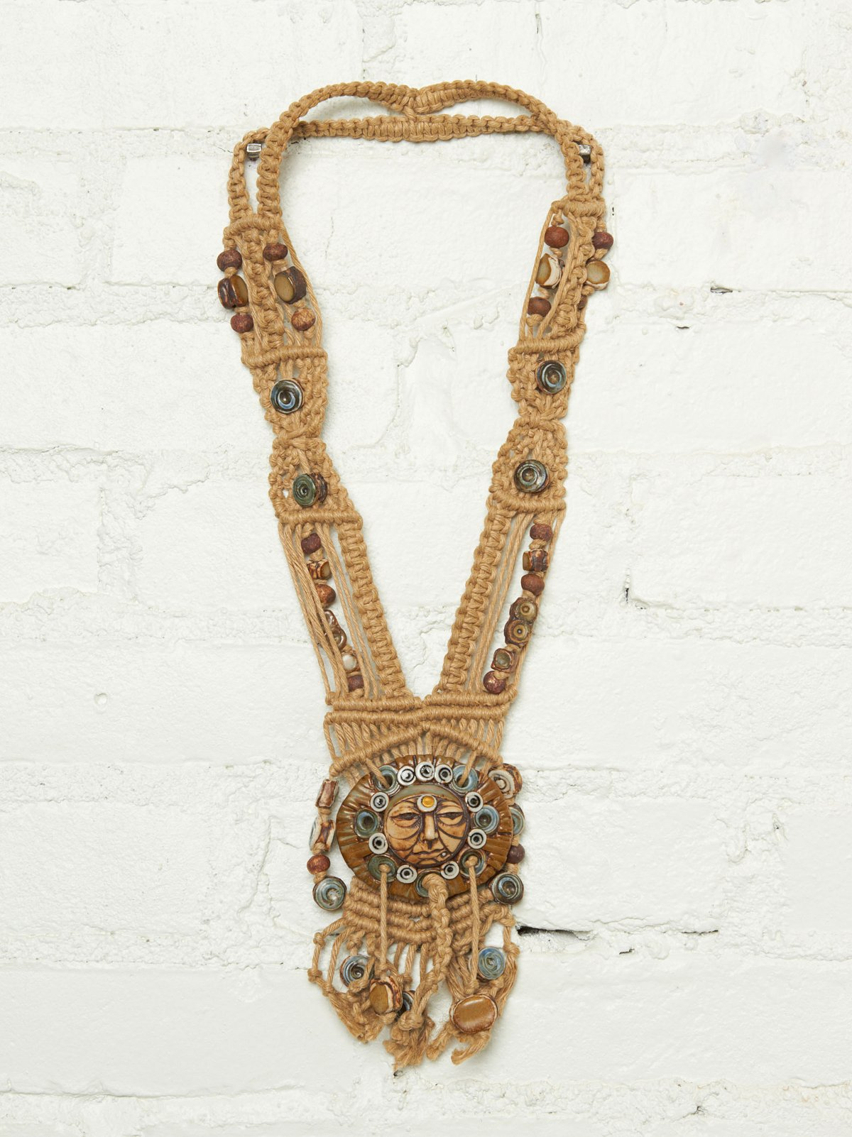 Vintage Macrame Necklace