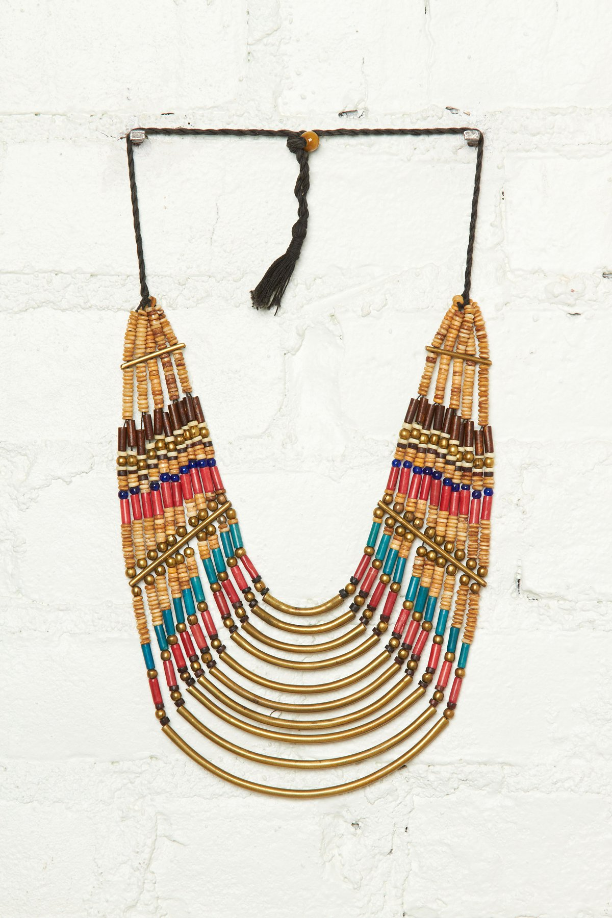 Vintage Stone & Metal Necklace