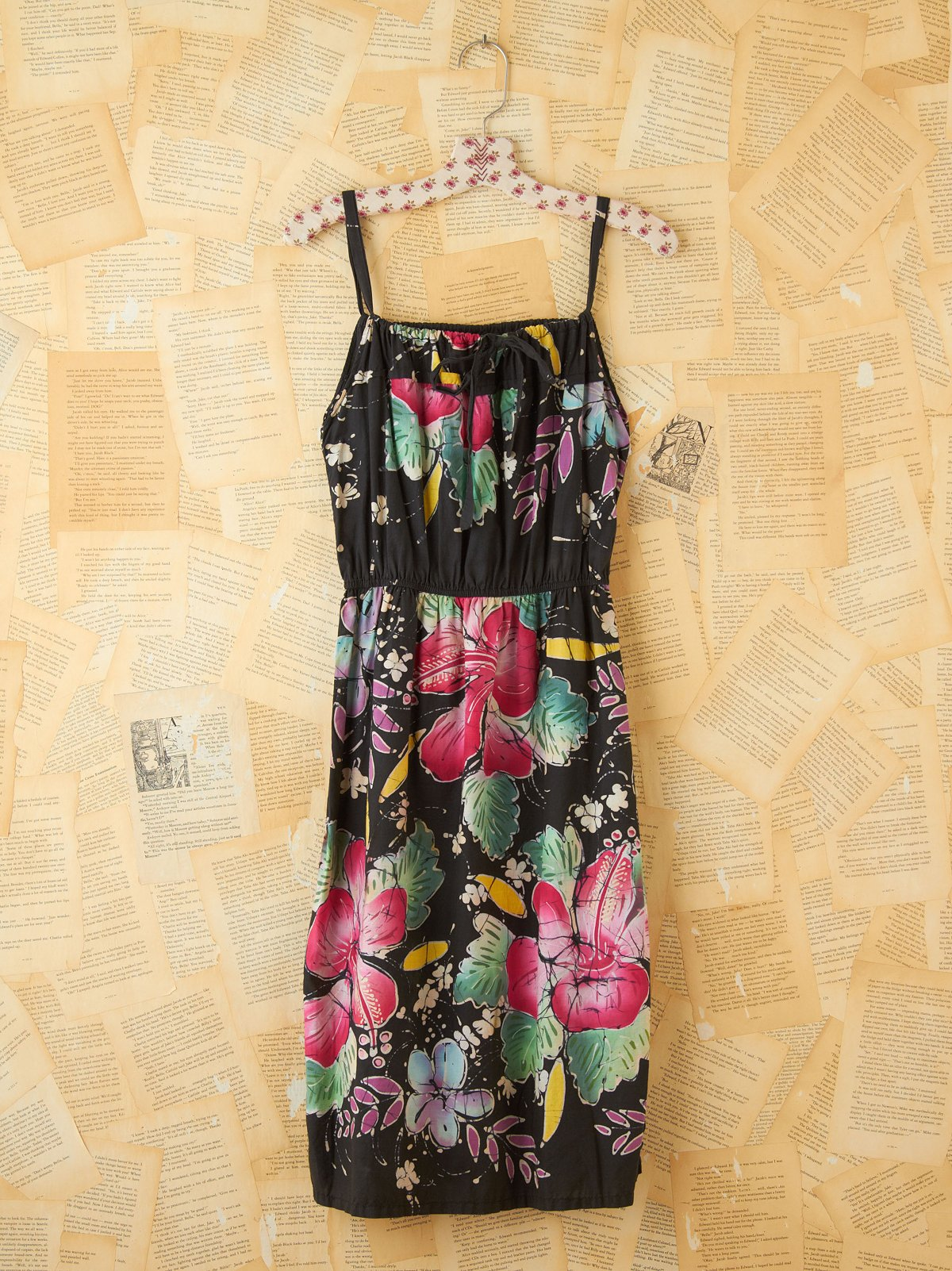 Vintage Printed Sundress