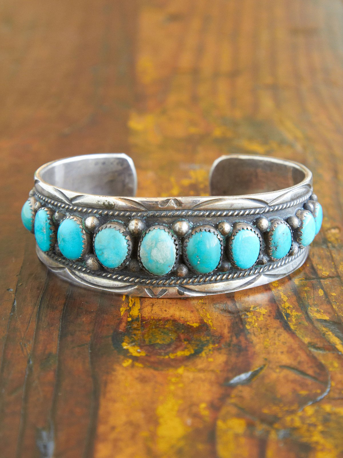 Vintage Turquoise Stone Bracelet