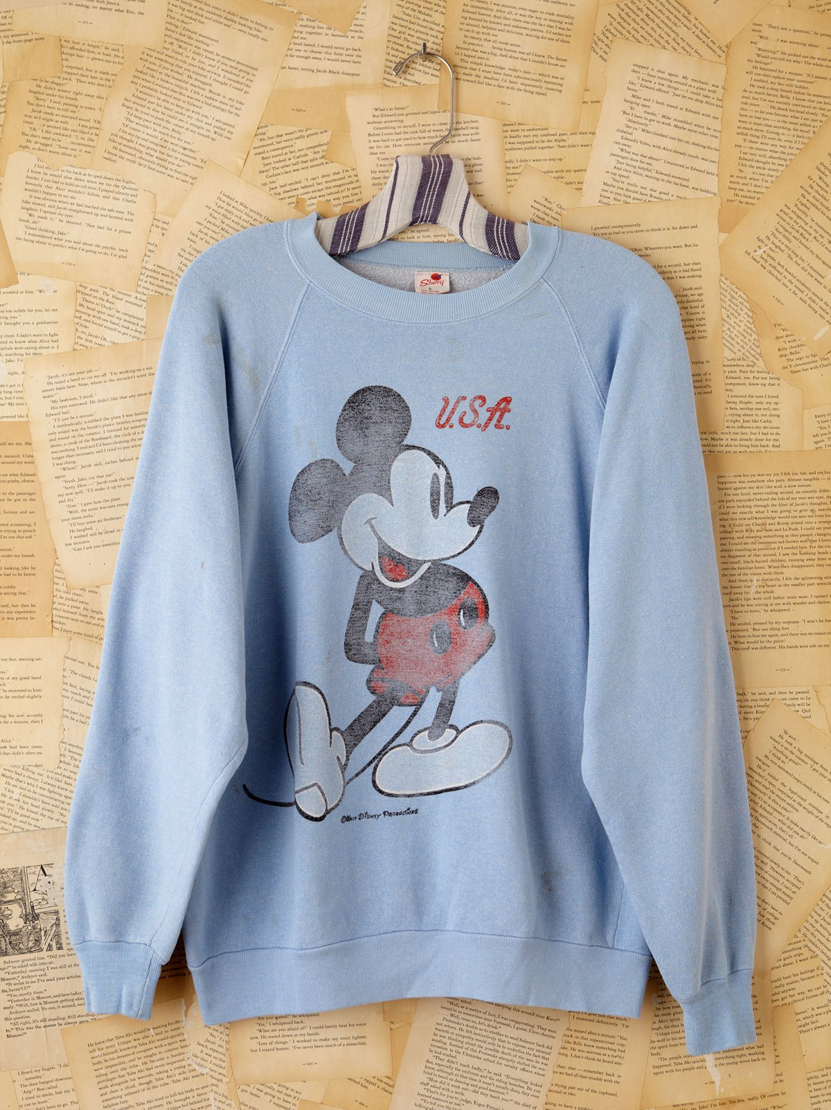 Vintage Mickey USA Sweatshirt