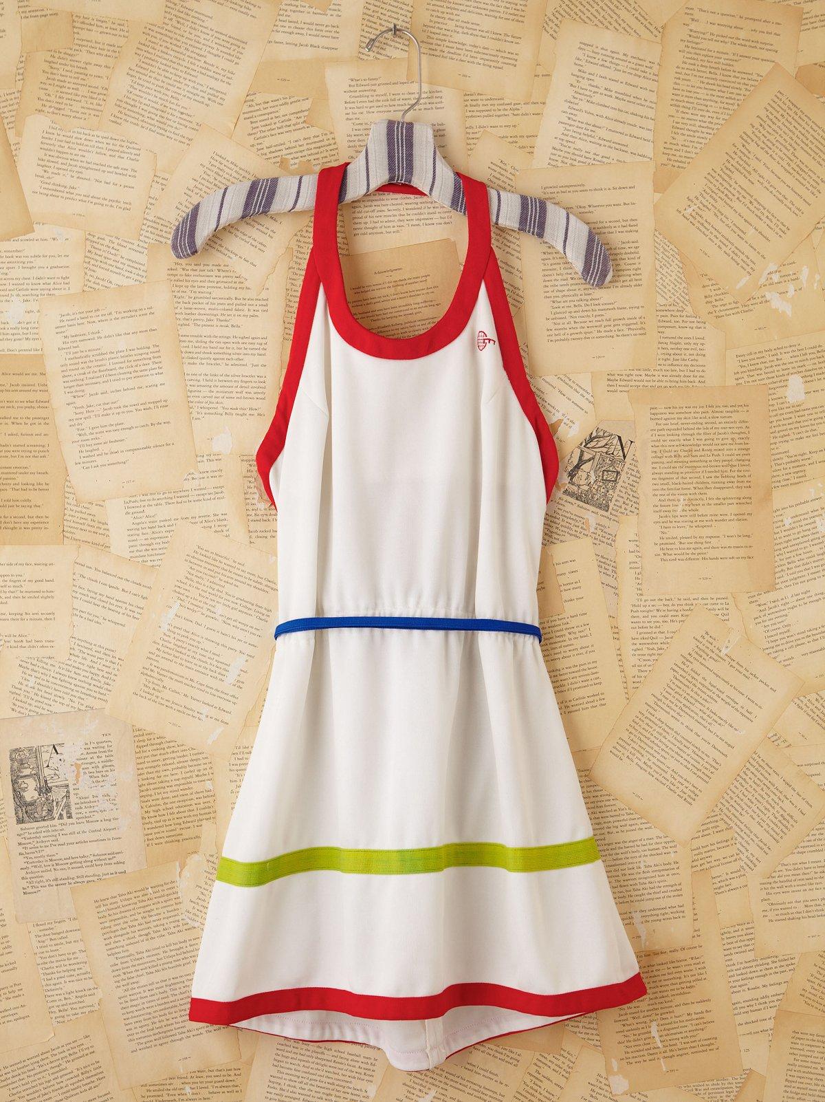 Vintage Mini Tennis Dress