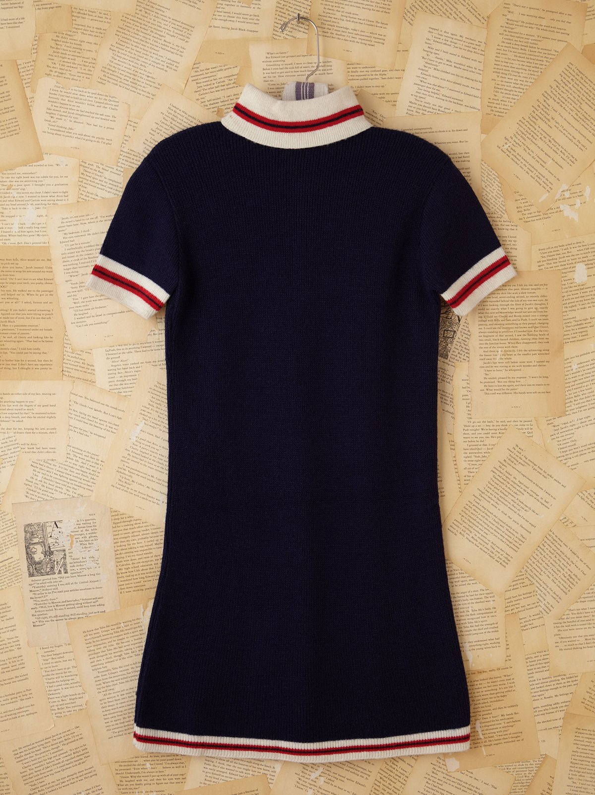 Vintage Sporty Sweater Dress