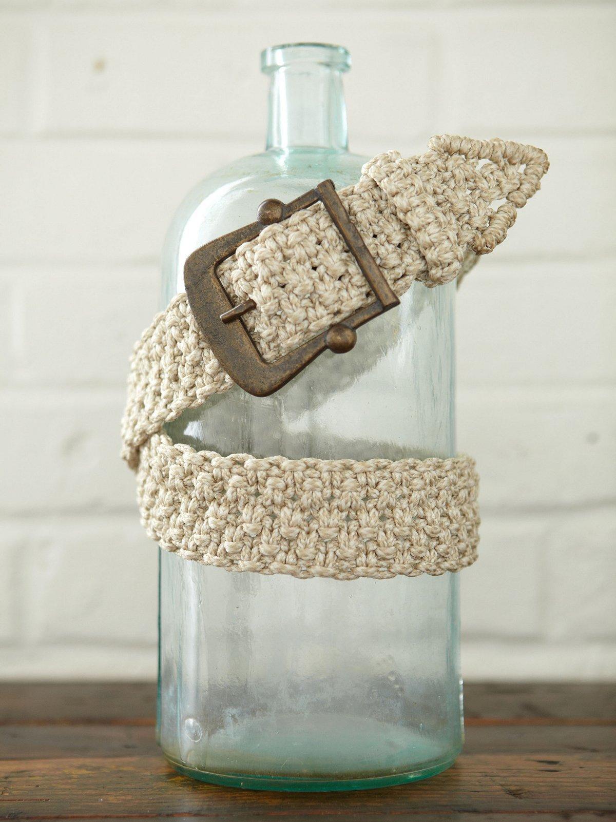 Vintage Woven Macrame Belt