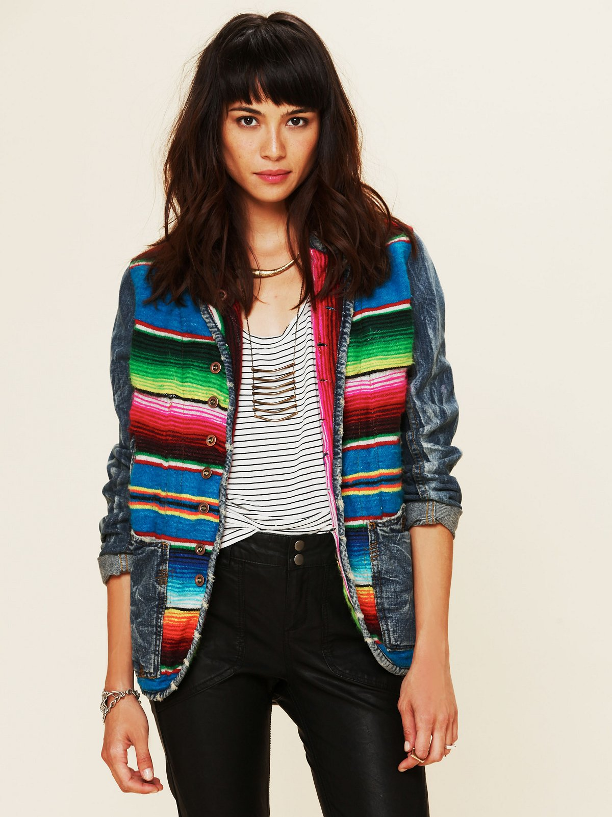 Mexican Blanket Jacket
