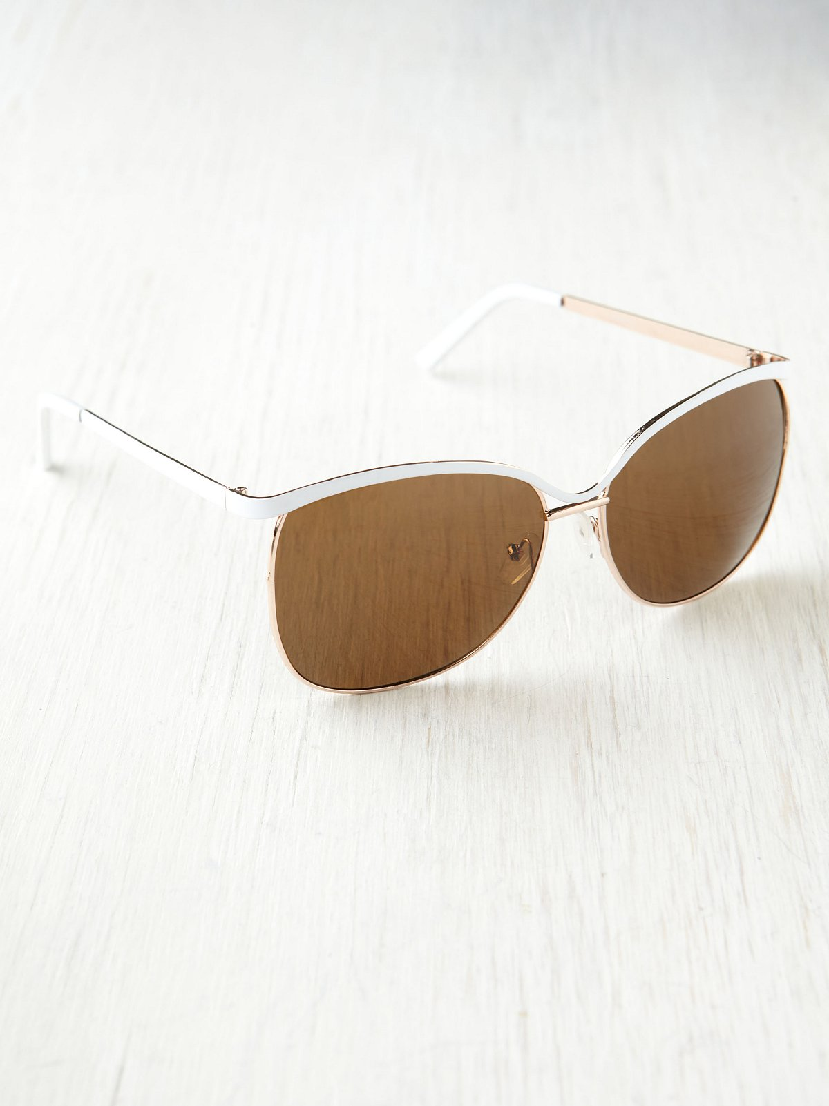 Color Metal Sunglasses