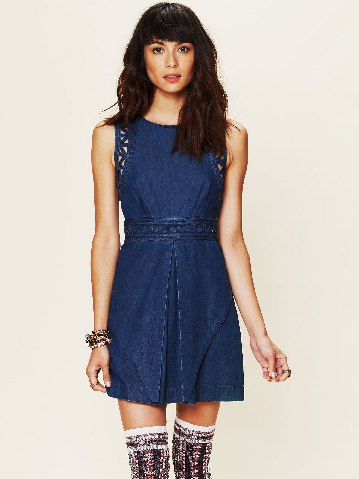 FP New Romantics Denim Dress
