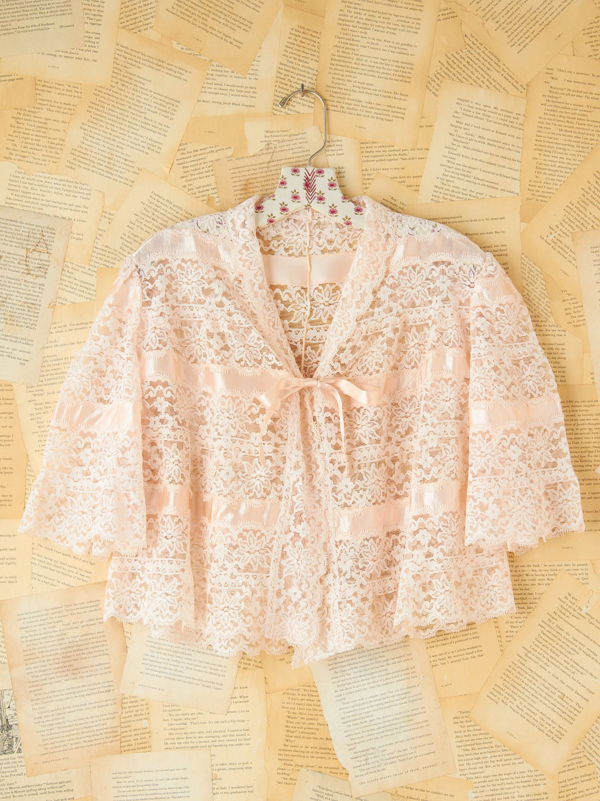 Vintage Ditsy Lace Jacket
