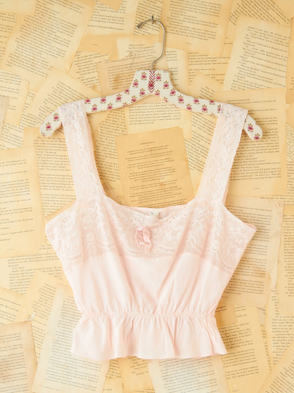 Vintage Cropped Cami