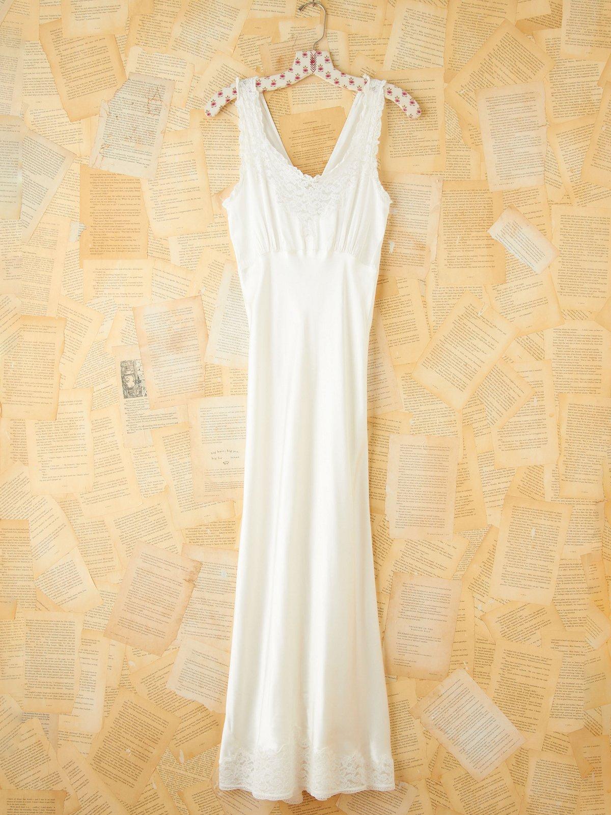 Vintage Silk Maxi Slip