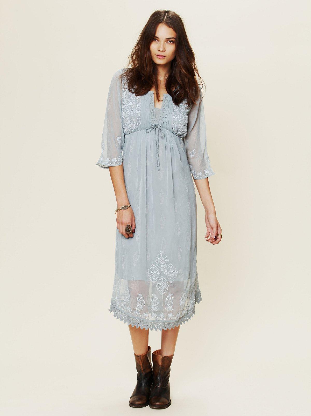Gauzy Georgette Dress