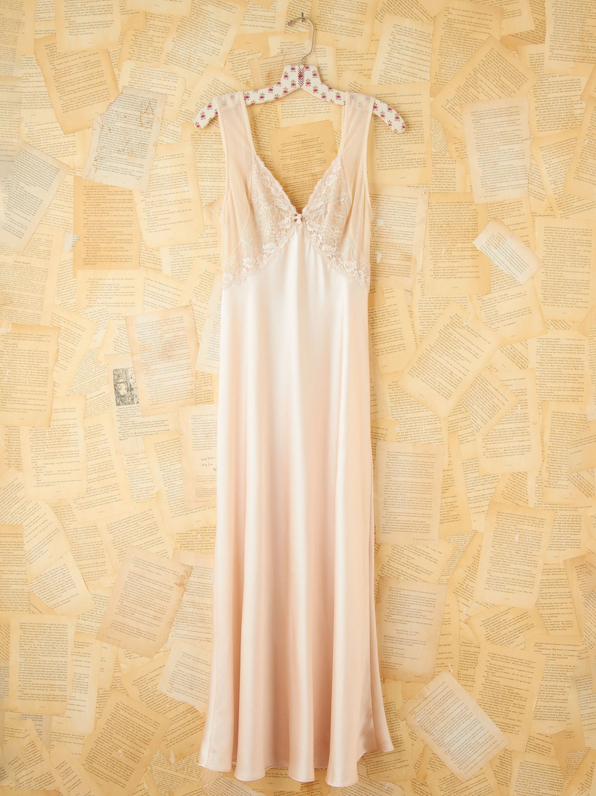 Vintage Valentino Maxi Slip Dress