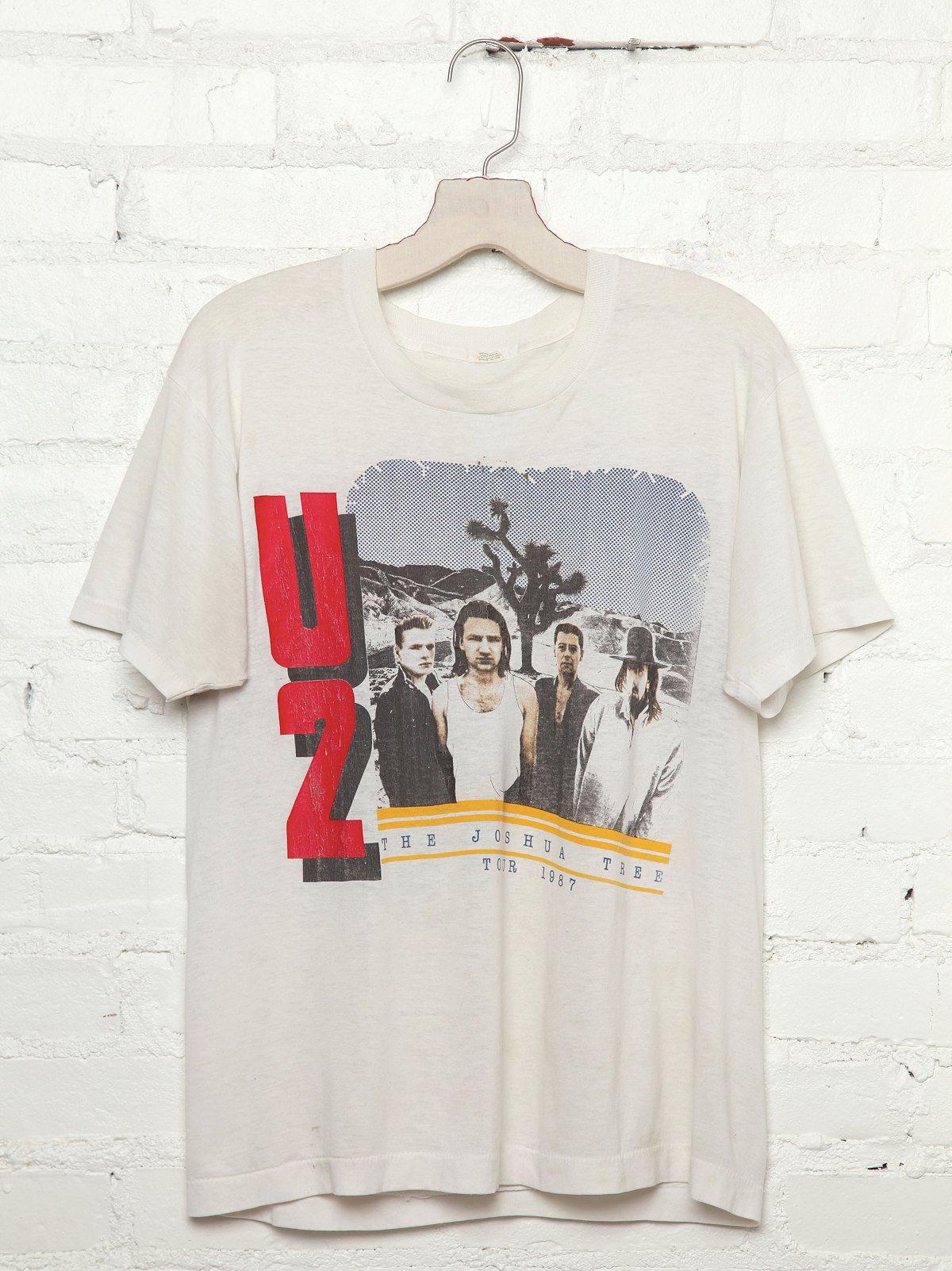 Vintage U2 1987 Tour Tee