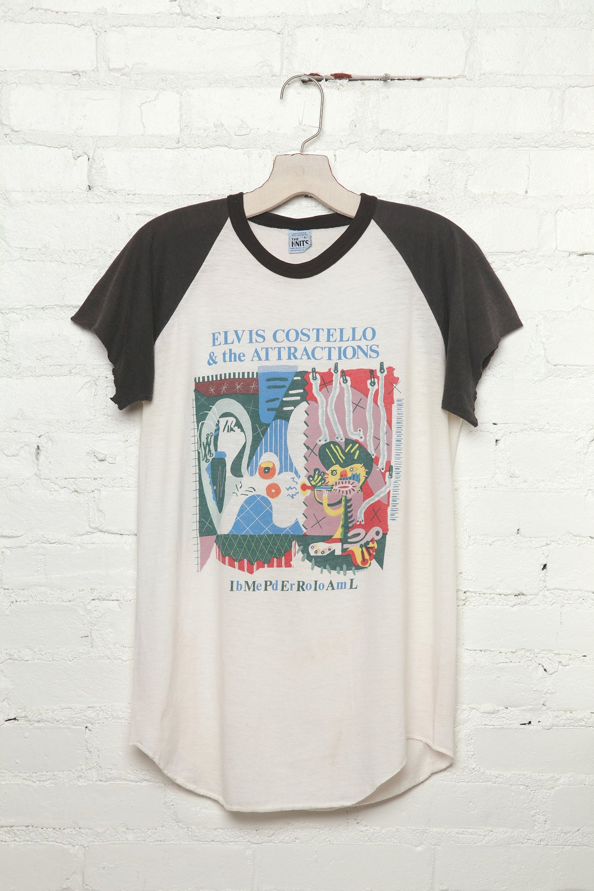 Vintage Elvis and the Attractions 1982 Tour Tee