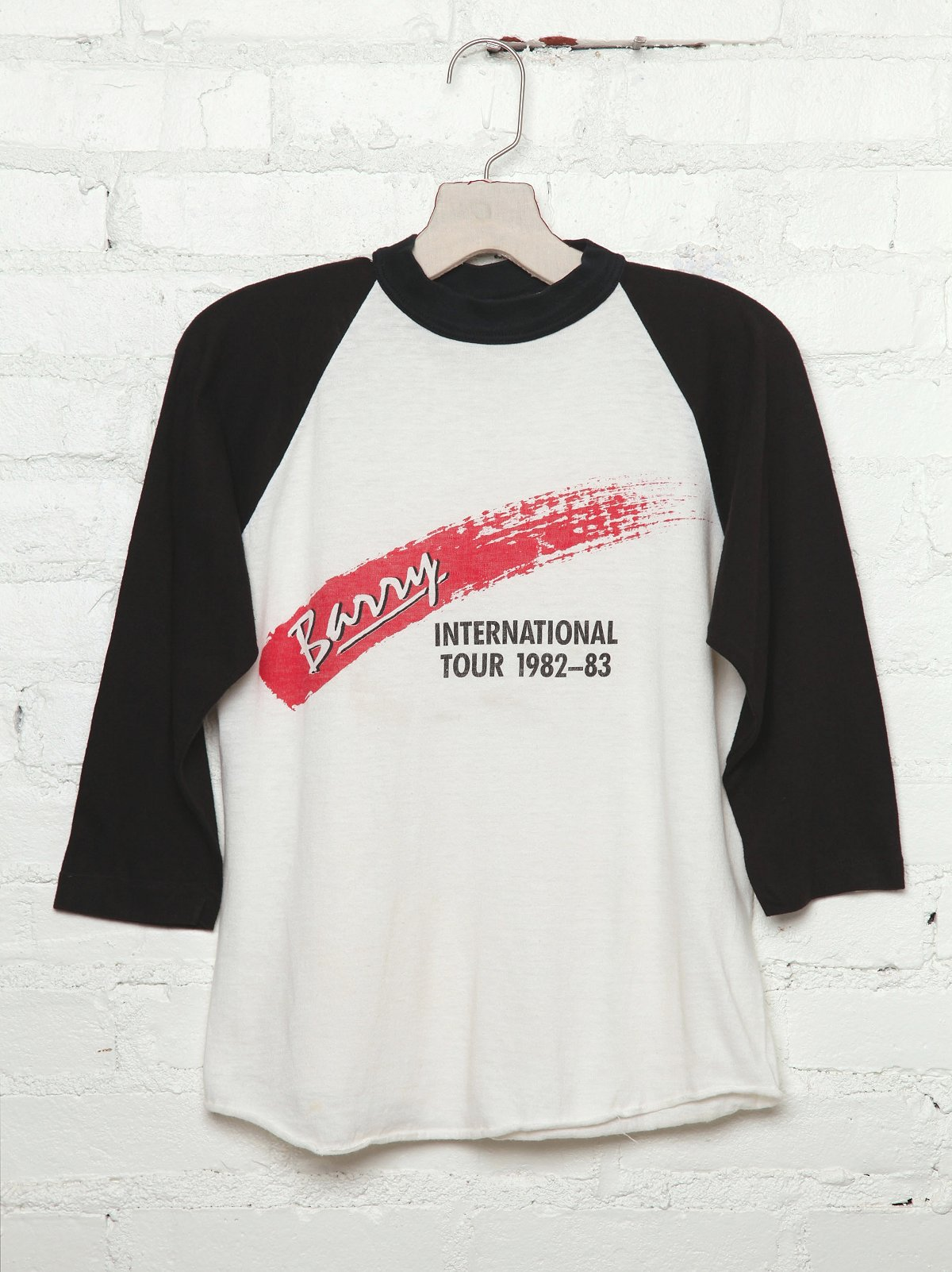Vintage Barry International 1982-83 Tour Tee