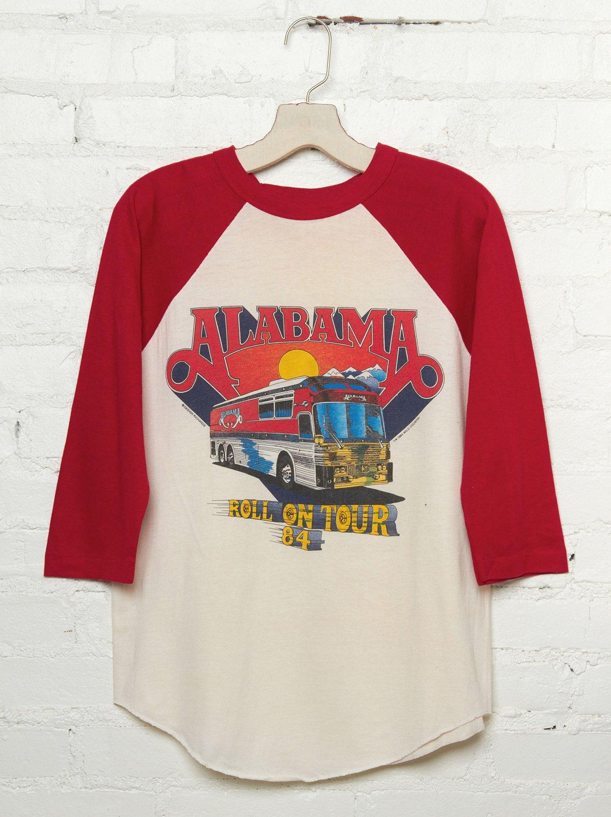 Vintage Alabama Roll On '84 Tour Tee