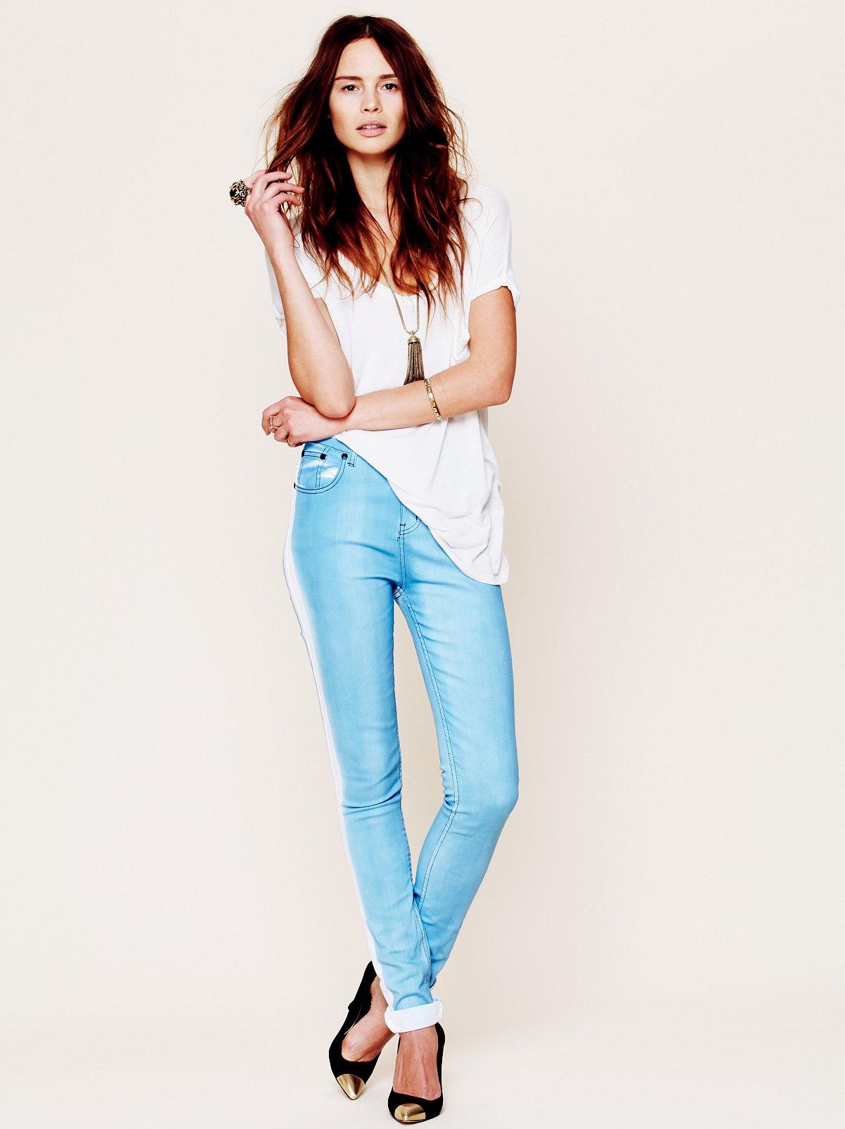Tuxedo Skinny Jean