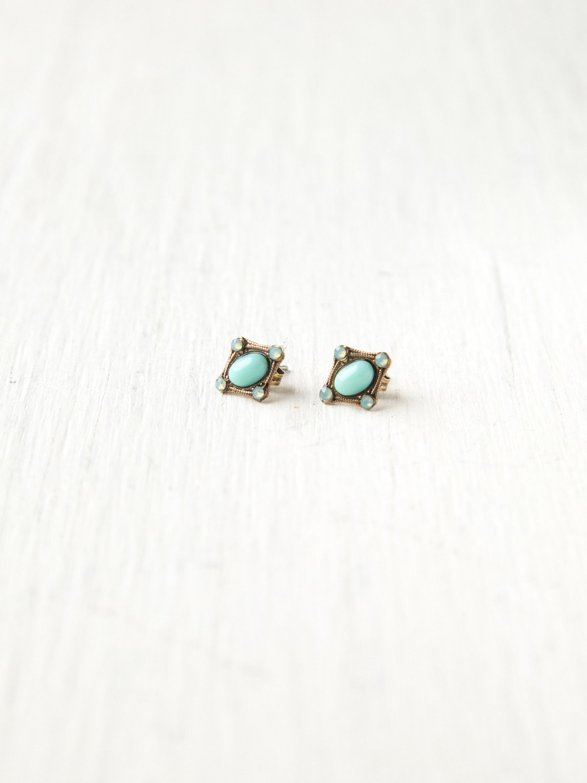 Crystal Stone Studs