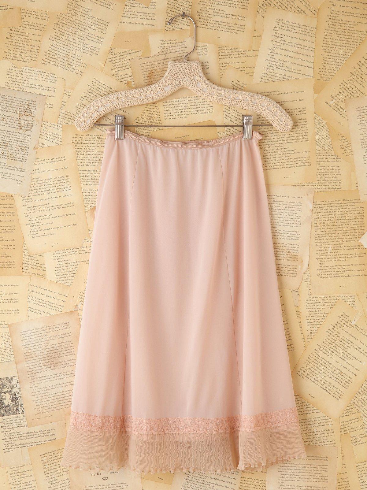 Vintage Slip Skirt