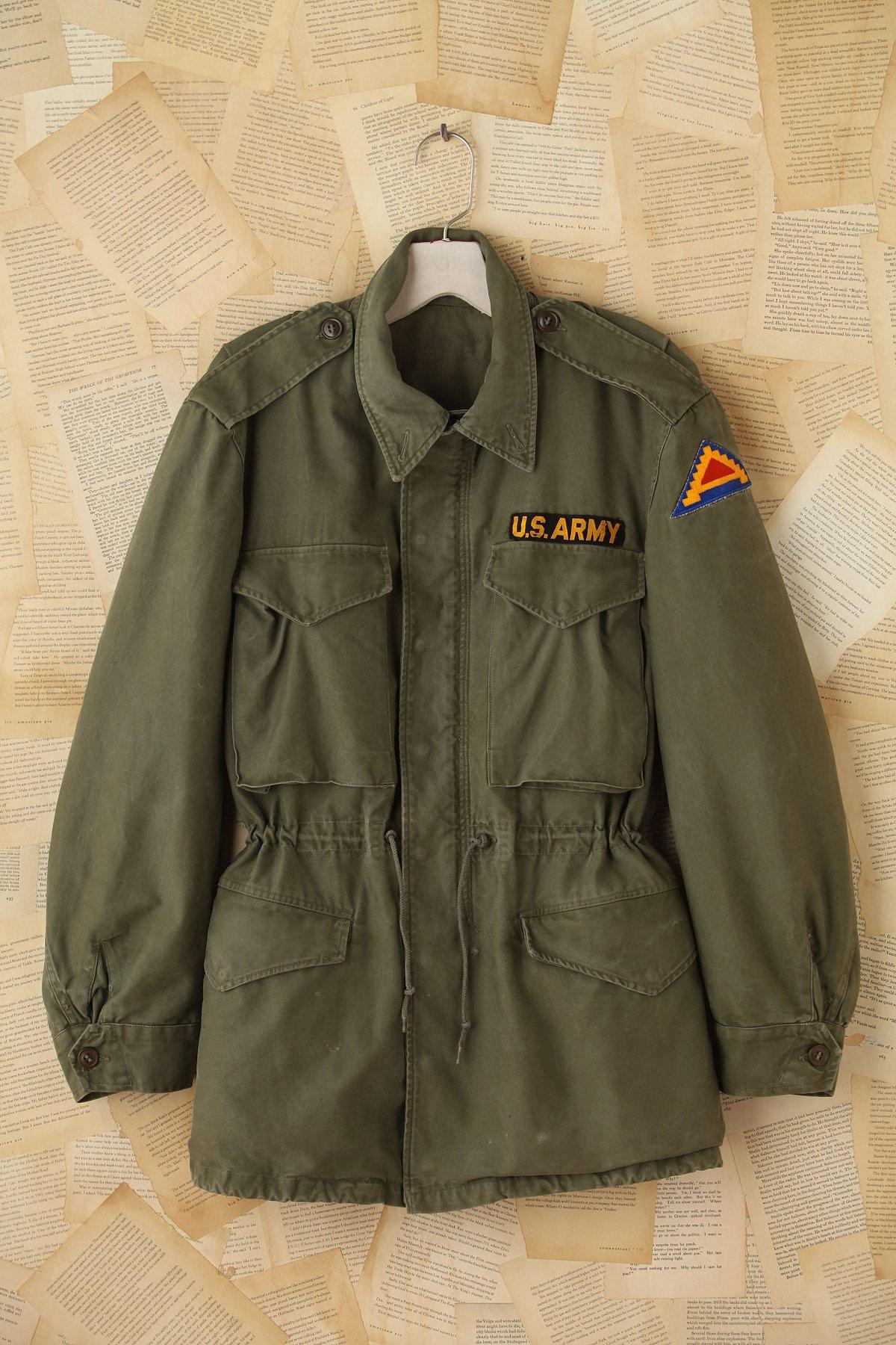Vintage Patched Cargo Jacket