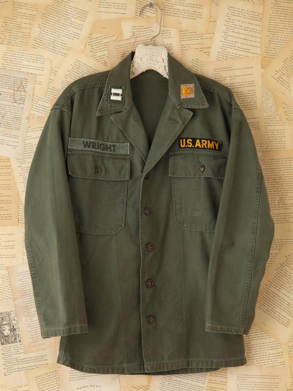Vintage Army Shirt