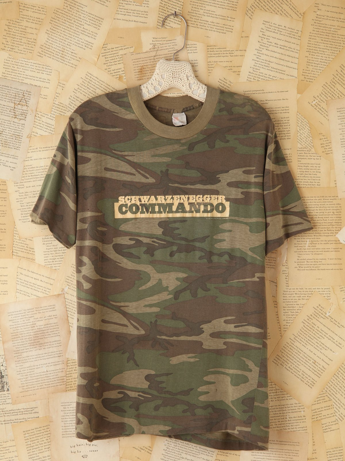 Vintage Camouflage Army Tee