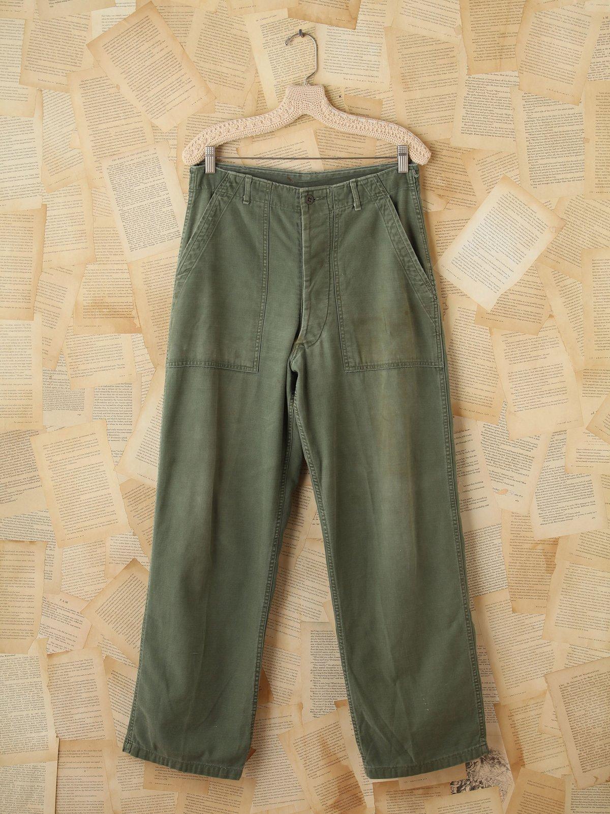 Vintage Military Cargo Pants