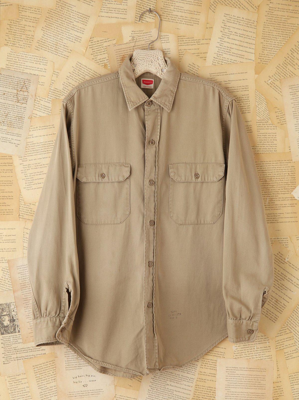 Vintage Military Buttondown Shirt