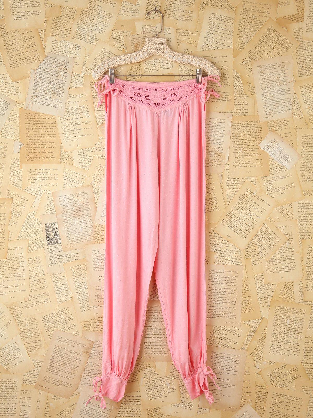 Vintage Pink Bottoms