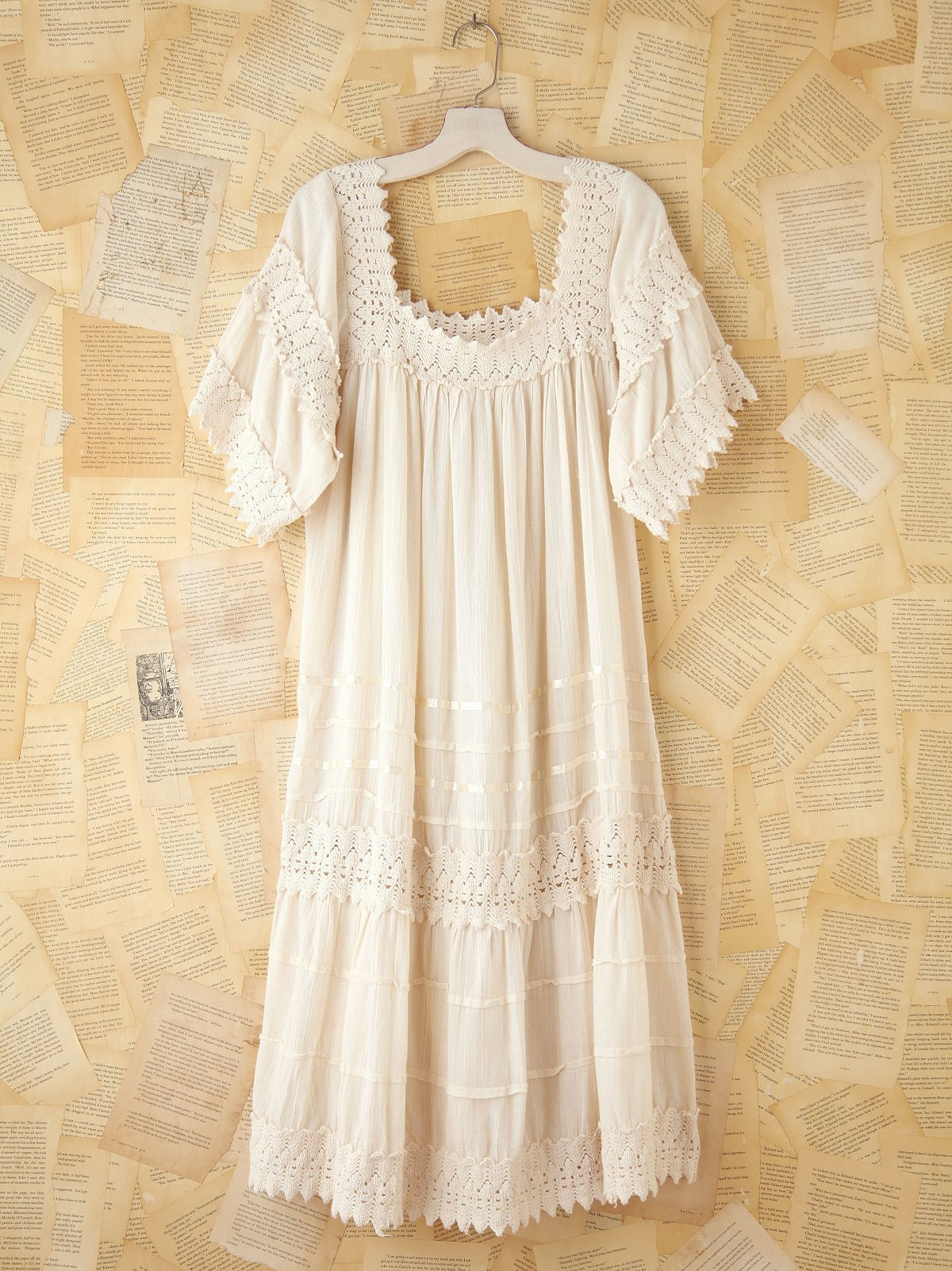 Vintage Gauzy Cotton Dress