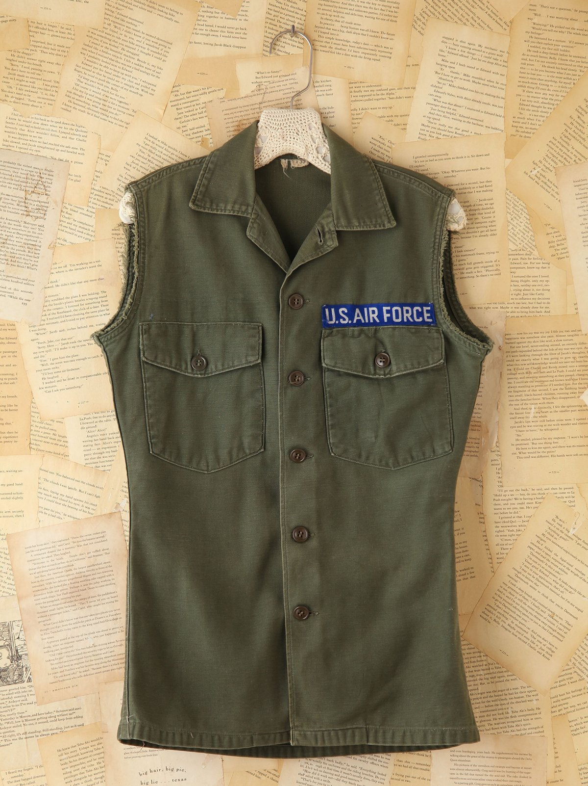 Vintage Military Cargo Vest