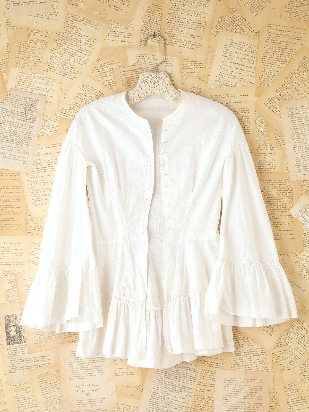 Vintage Cotton Buttondown Blouse