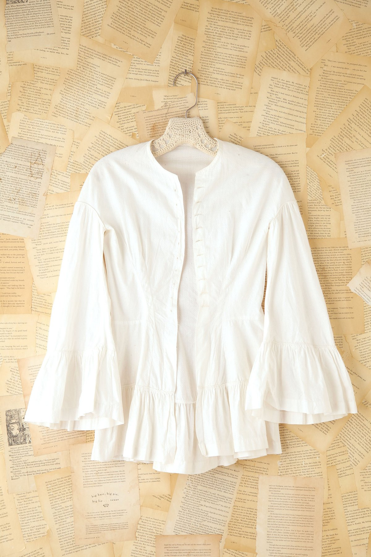 Vintage Cotton Buttondown Blouse