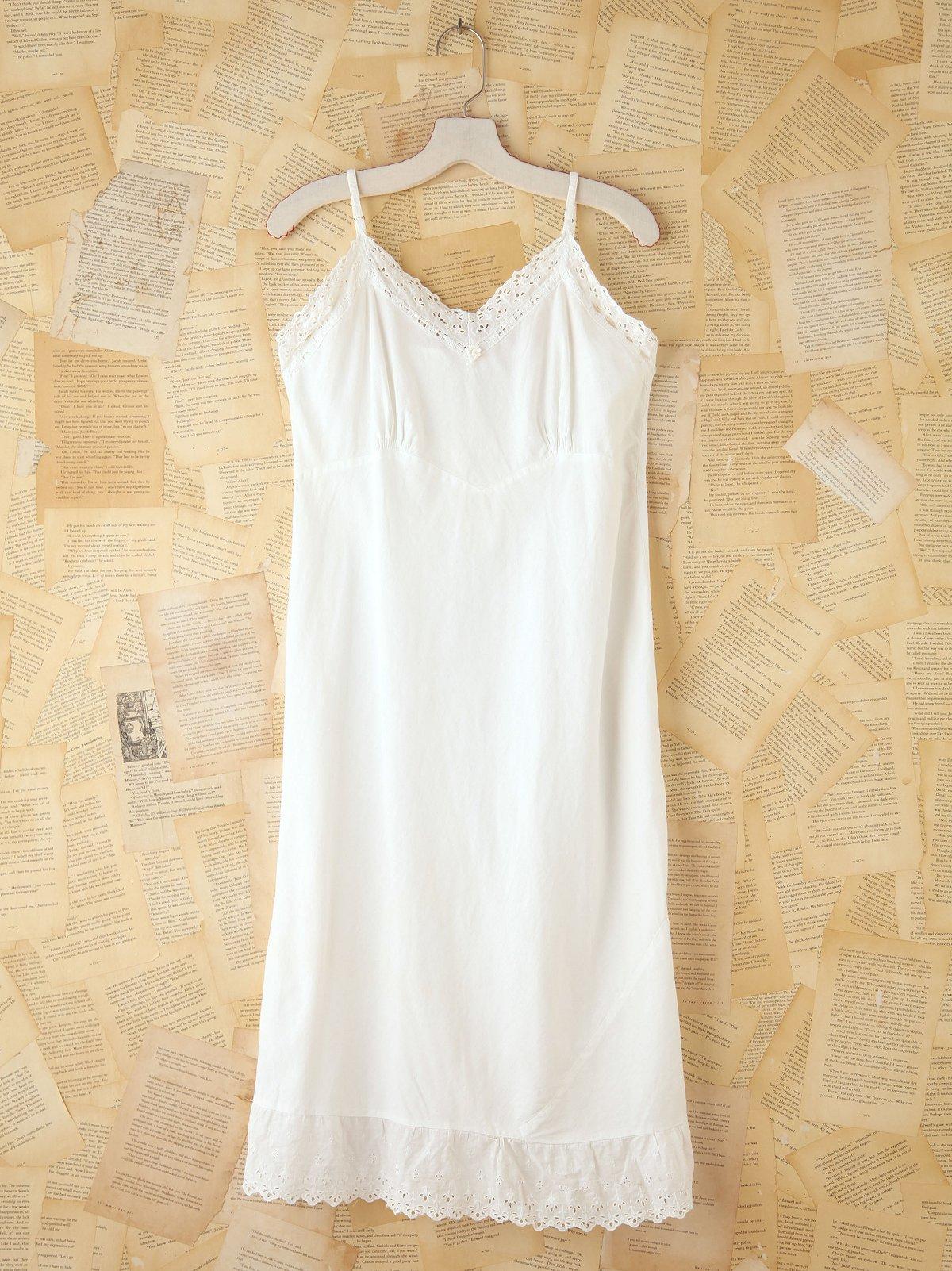 Vintage Sleeveless Nightgown