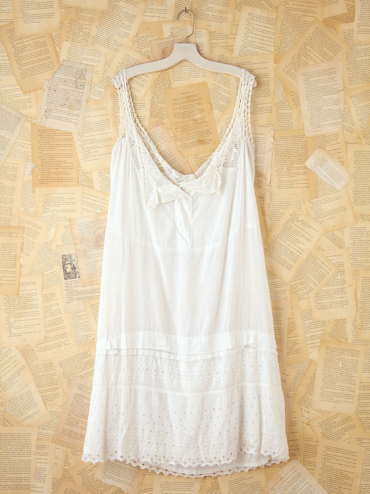 Vintage Cotton Tank Dress