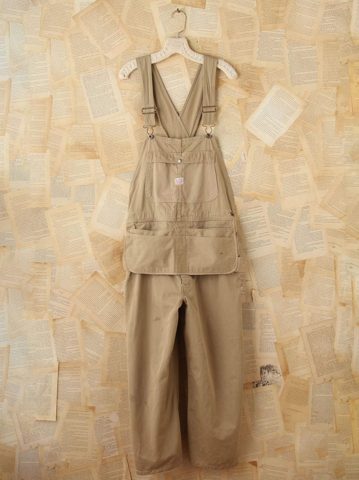 Rare Vintage Army Overalls