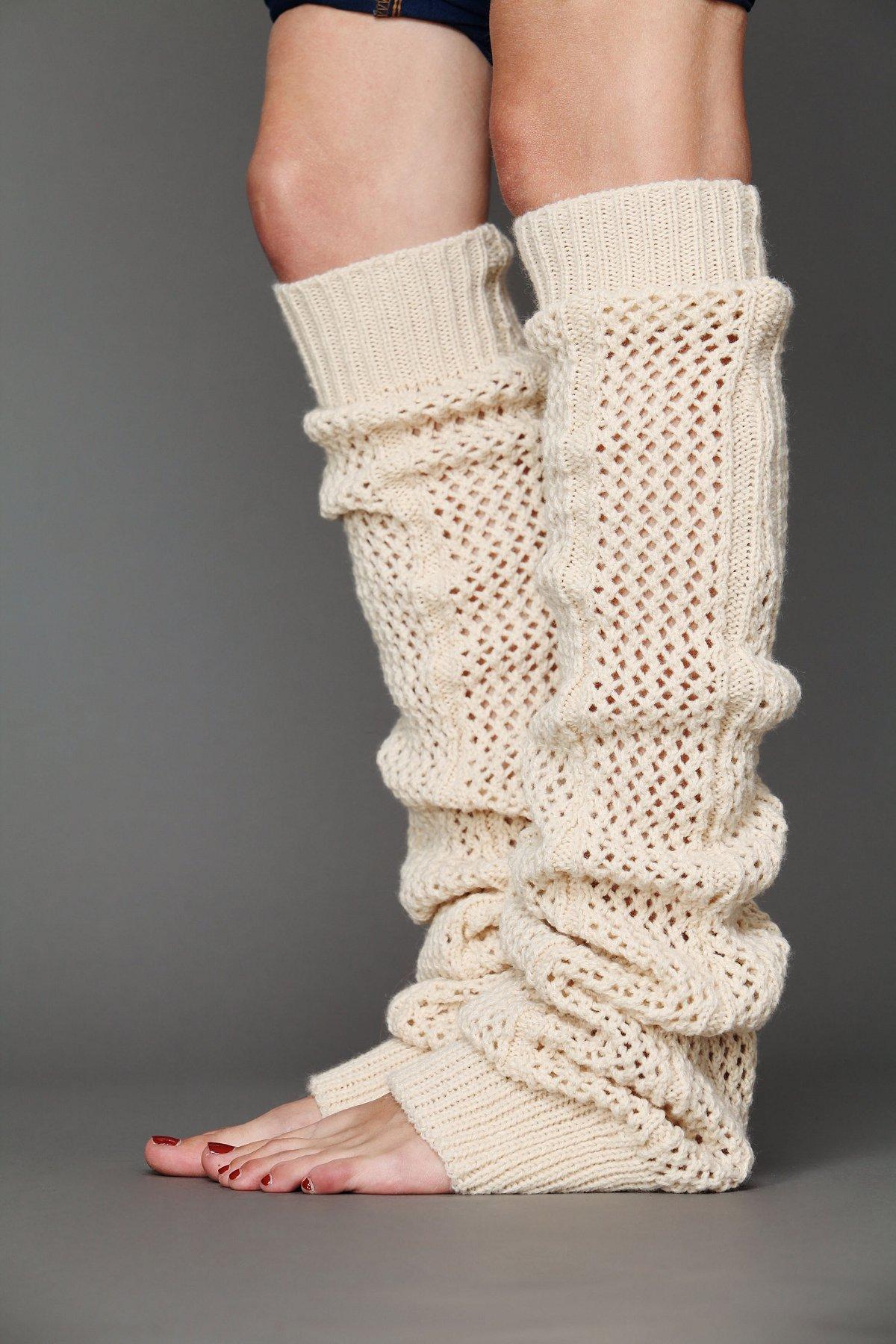 Thigh High Crochet Legwarmer