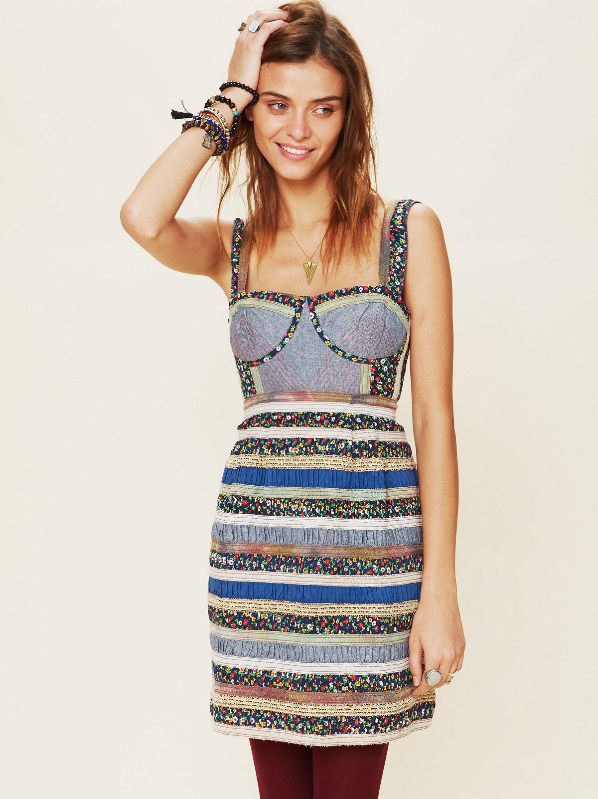 FP New Romantics Ol' Oprey Smocked Dress