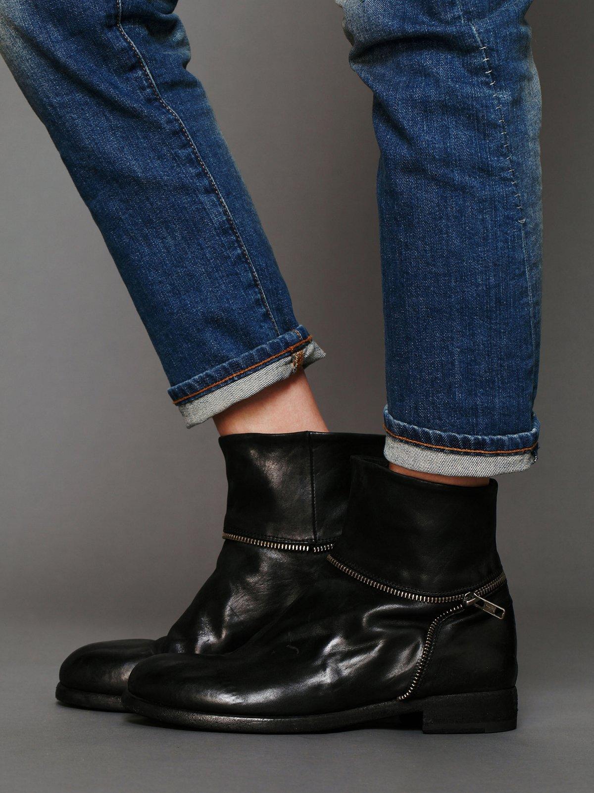 Shane Zipper Ankle Boot