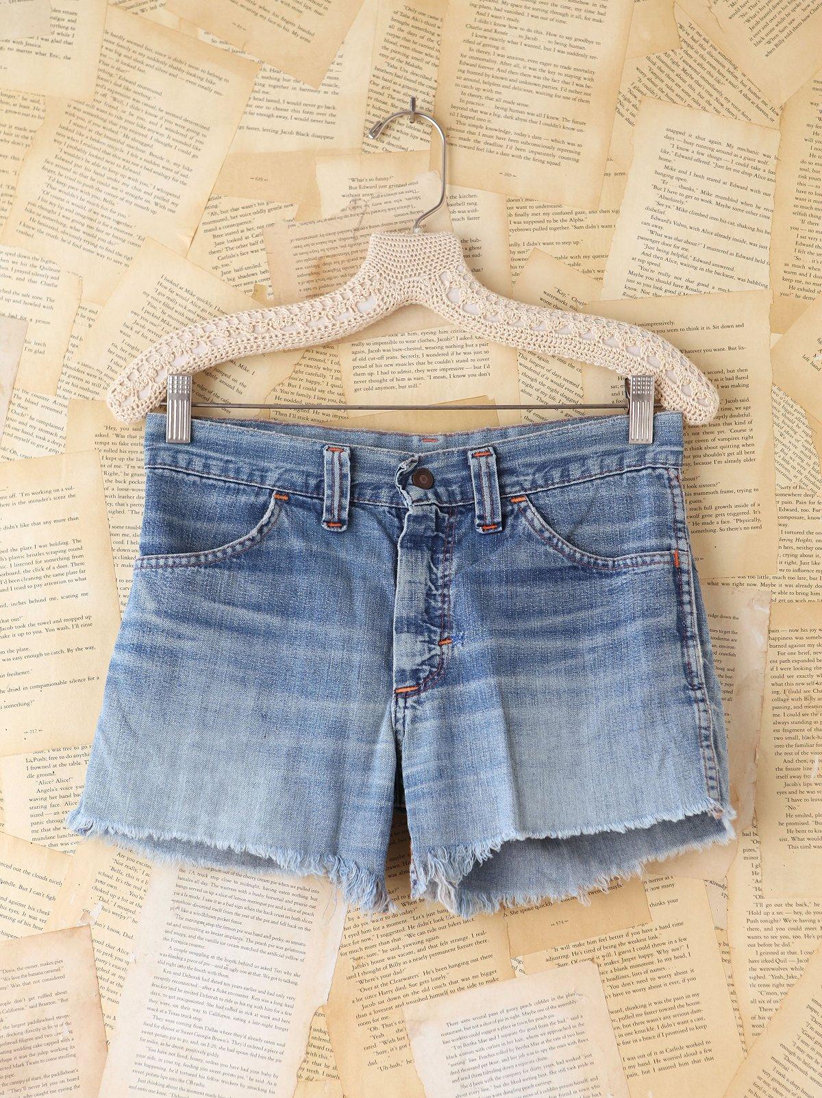 Vintage Patchwork Denim Shorts