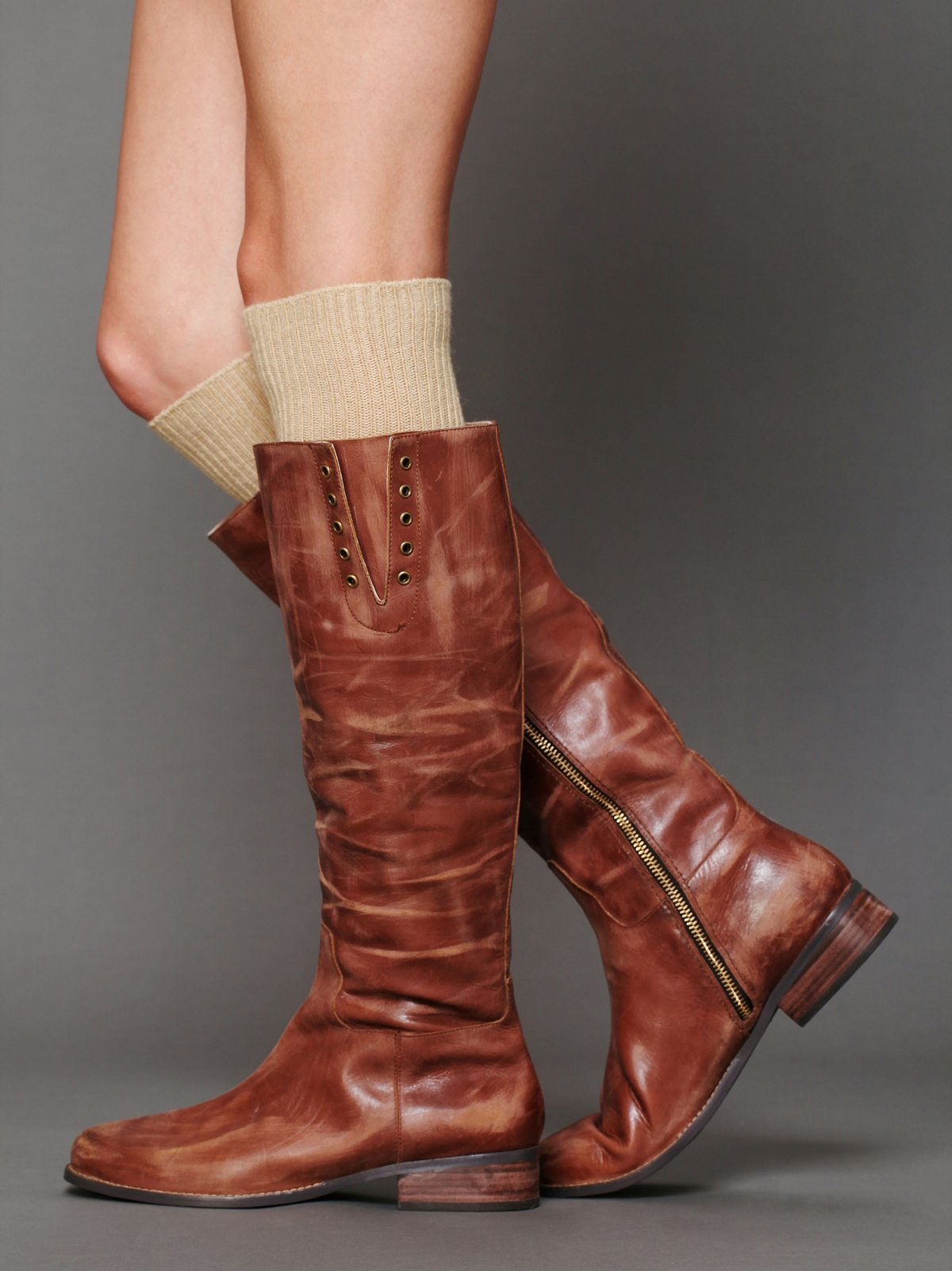 Errol Leather Boot